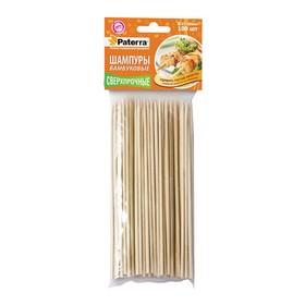 Шампуры для шашлыка, d 0,3 х 20 см, 100 шт