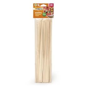 Шампуры для шашлыка, 25 см, 100 шт