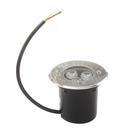Светильник встраиваемый светодиодный грунтовый Luazon 3 Вт, d=90 мм, IP65, 220В, БЕЛЫЙ