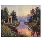 """Картины по номерам на дереве """"Утренний парк"""", Прищепа"""