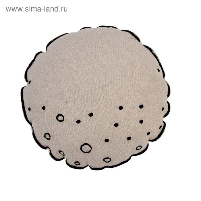 """Подушка """"Луна"""", диаметр 40 см"""