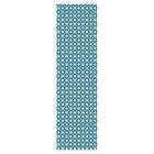 """Дорожка на стол """"Звёздочки"""", размер 45х145 см, цвет голубой МТ71-130"""