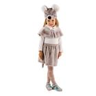 """Карнавальный костюм """"Мышка"""" цвет серый, рост 110 см, размер 28"""