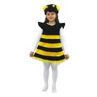"""Карнавальный костюм """"Пчёлка"""", мех, рост 110 см, размер 28"""