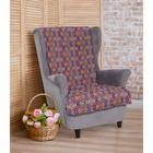 """Накидка на кресло """"Этель"""" Орнамент 70х160 ± 2 см"""