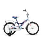 """Велосипед 16"""" Altair City Boy 16, 2017, цвет белый/синий"""