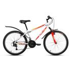 """Велосипед 24"""" Altair MTB HT 24, 2017, цвет белый, размер 14"""""""