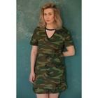 """Платье-футболка женская  KAFTAN """"Militari"""", р-р XS (40-42), 100% хл."""