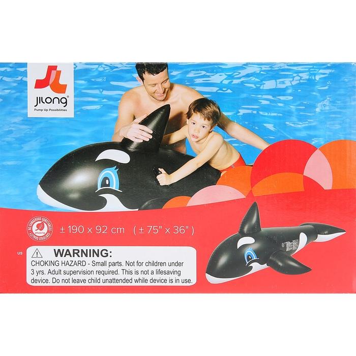 """Надувная игрушка для плавания """"Касатка - всадник"""", от 3 лет"""