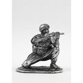 Оловянный солдатик 'Вежливый морпех' Ош