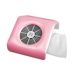 Пылесос на маникюрный стол SD-39М, розовый, малый