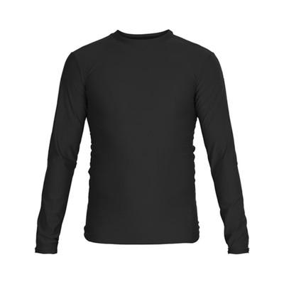 Футболка компрессионная RASH GUARD, размер L, цвет черный