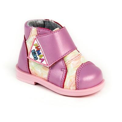Ботинки ясельные профилактические арт. 8332, цвет розовый, размер 22