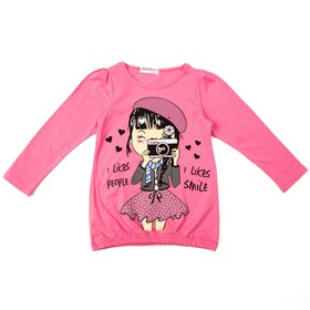 Джемпер для девочки, рост 98 см, цвет розовый st-12
