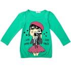 Джемпер для девочки, рост 98 см, цвет зелёный st-12