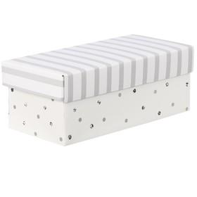 Складная коробка «В горошек», 26 х 14 х 10 см Ош