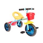 Велосипед трехколесный Micio Dynamic 2018, цвет синий/желтый/красный