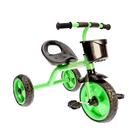 Велосипед трехколесный Micio Neon 2018, цвет зеленый/черный