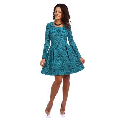 Платье женское Изабелла цвет бирюзовый, р-р 46