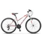 "Велосипед 26"" Stels Miss-6100 V, V030, цвет белый/красный, размер 15"""