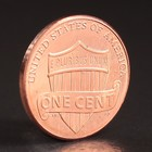 """Монета """"1 цент 2010 США D"""