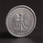 """Монета """"1 злотый 1989 Польша UNC"""