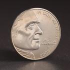 """Набор монет 5 центов 2004 - 2006 г. """" 200 лет освоения Запада """" Путешествие на запад"""