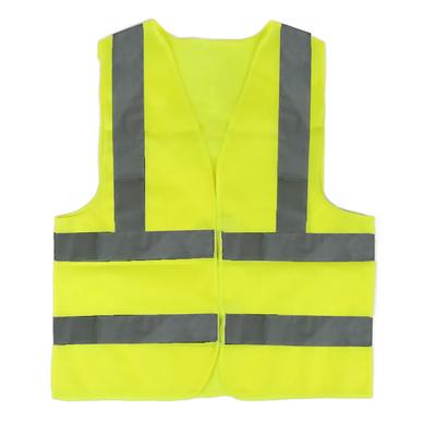 Жилет текстильный Ж3, желтый, усиленный, XL