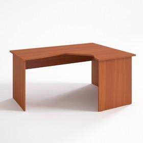 Стол угловой правый СП14.12.7, 1400х1150/680х750 мм, яблоня локарно