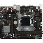 Материнская плата MSI H110M PRO-VD PLUS Soc-1151 Intel H110 2xDDR4 mATX GbLAN+VGA+DVI