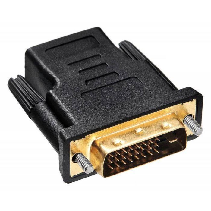 Адаптер Buro HDMI-19FDVID-M_ADPT HDMI-19M(F), DVI-D(M), с позолоченными контактами