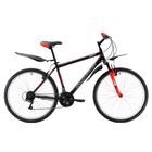 """Велосипед 26"""" Challenger Agent, 2018, цвет чёрный/красный/белый, размер 16''"""