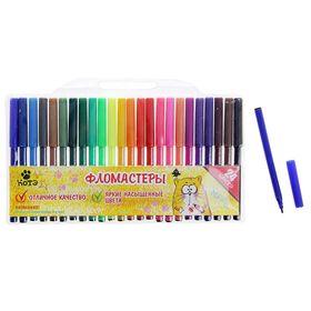 Фломастеры 24 цвета КОТЭ,вентилируемый колпачок