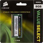 Память Corsair CMSO8GX3M1C1600C11, 8Gb, 1600MHz, DDR3L