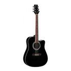 Электроакустическая гитара MARTINEZ  FAW - 702 CEQ / B