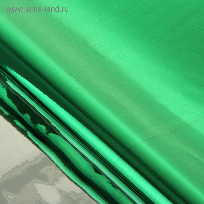 Бумага голографическая, цвет зелёная