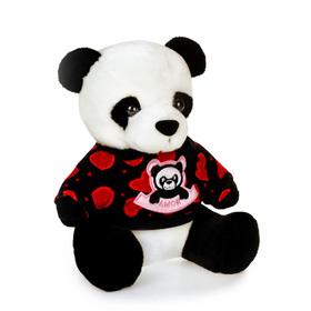 """Мягкая игрушка """"Панда в кофте №2"""""""