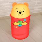 Корзина для игрушек Медвежонок Винни и его друзья с ручками и крышкой