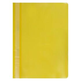 Папка-скоросшиватель А4, 120-180 мкм, жёлтая