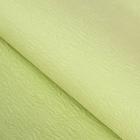 Бумага упаковочная рельефная, цвет фисташковый, 64 х 64 см