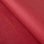 Бумага упаковочная рельефная, цвет бордовый, 64 х 64 см