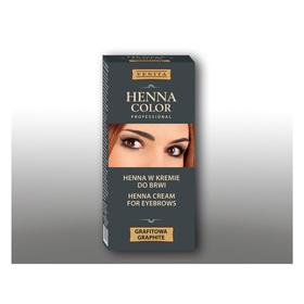 Крем-краска для бровей Venita Henna Color Professional Графитовая, 15 мл Ош