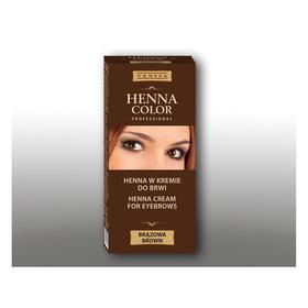 Крем-краска для бровей Venita Henna Color Professional Коричневая, 15 мл Ош