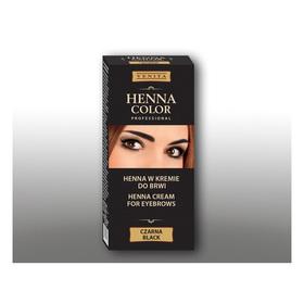 Крем-краска для бровей Venita Henna Color Professional Черная, 15 мл Ош
