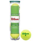 Мяч тенннисный WILSON Starter Green Play,арт. WRT137400 ITF, 4шт