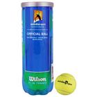 Мяч теннисный WILSON Australian Open, арт. WRT104800, ITF, 3 шт