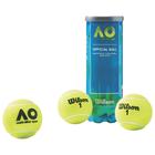 Мяч теннисный WILSON Australian Open, арт. WRT109800, ITF, 3 шт