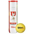 Мяч теннисный WILSON Tour Clay Red, арт. WRT110800,TF и USTA 4 шт