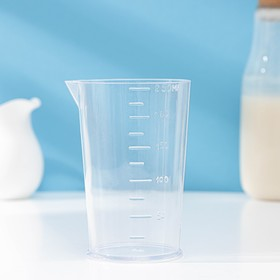 Стакан мерный 250 мл, прозрачный
