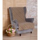 """Накидка на кресло """"Этель"""" Абстракция 70х160 ± 2 см"""